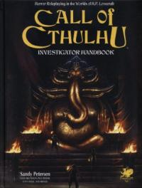Cover image for Call of Cthulhu investigator handbook