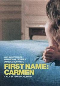 Cover image for First name: Carmen
