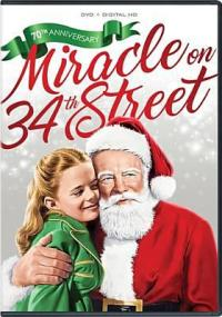 Cover image for Miracle on 34th Street 1947 (1 disc)