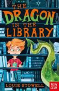 Cover image for The dragon in the library