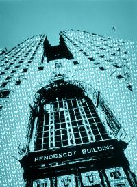 Cover image for Penobscot Building (turquoise), 2017