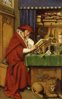 Cover image for Saint Jerome In His Study, 1435