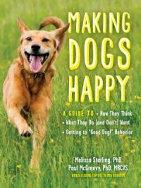 "Cover image for Making dogs happy : : a guide to how they think, what they do (and don't) want, and getting to ""good dog!"" behavior"