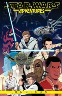 Cover image for Star Wars adventures omnibus.