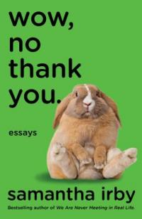 Cover image for Wow, no thank you : : essays