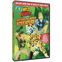 Cover image for Wild Kratts.