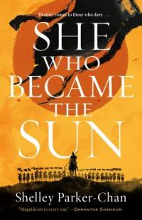 Cover image for She who became the sun