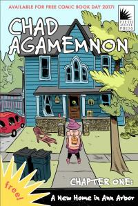 Cover image for Chad Agamemnon: a new home in Ann Arbor